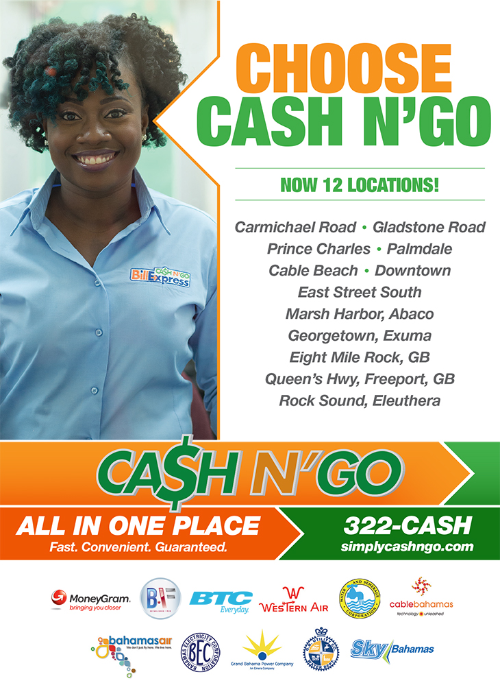 Choose Cash N Go! 12 Locations
