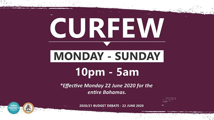 COVID Updated Curfew