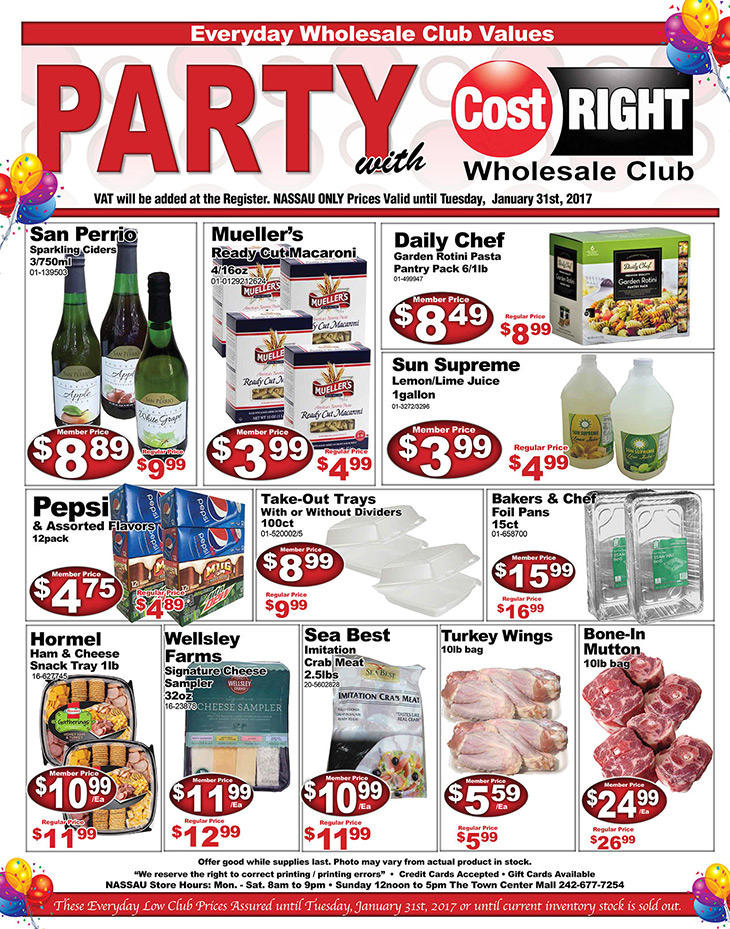 It's Still A Party With Cost Right