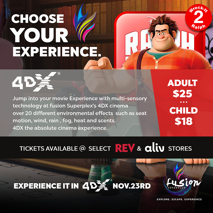 4DX With Laser at Fusion Superplex