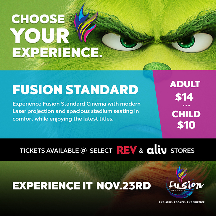Fusion Standard | Experience It November 3rd