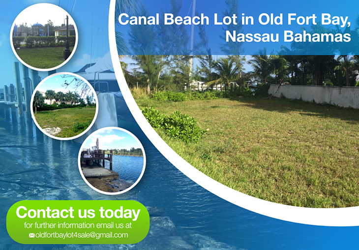 Canal Beach Lot In Old Fort Bay