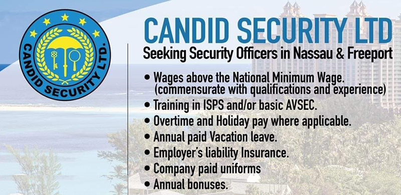 Candid Security Ltd Seeking Security Officers