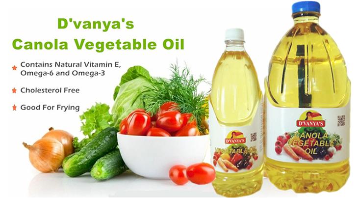 D'Vanya's Canola Cooking Oil