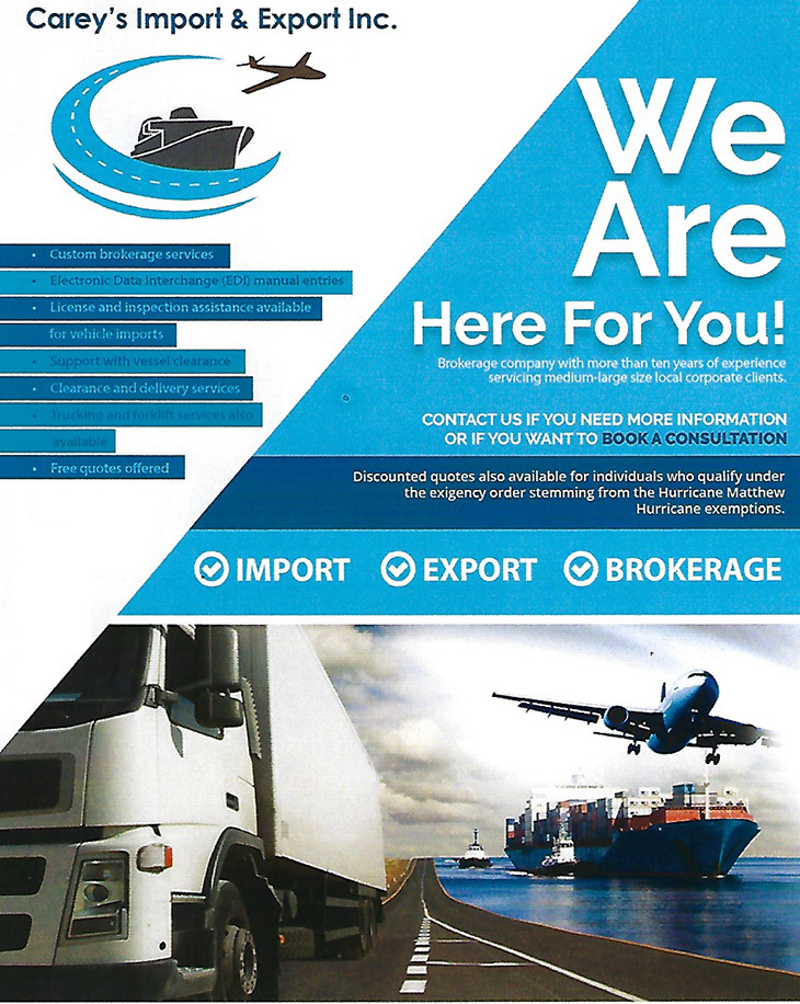 Careys Import & Export