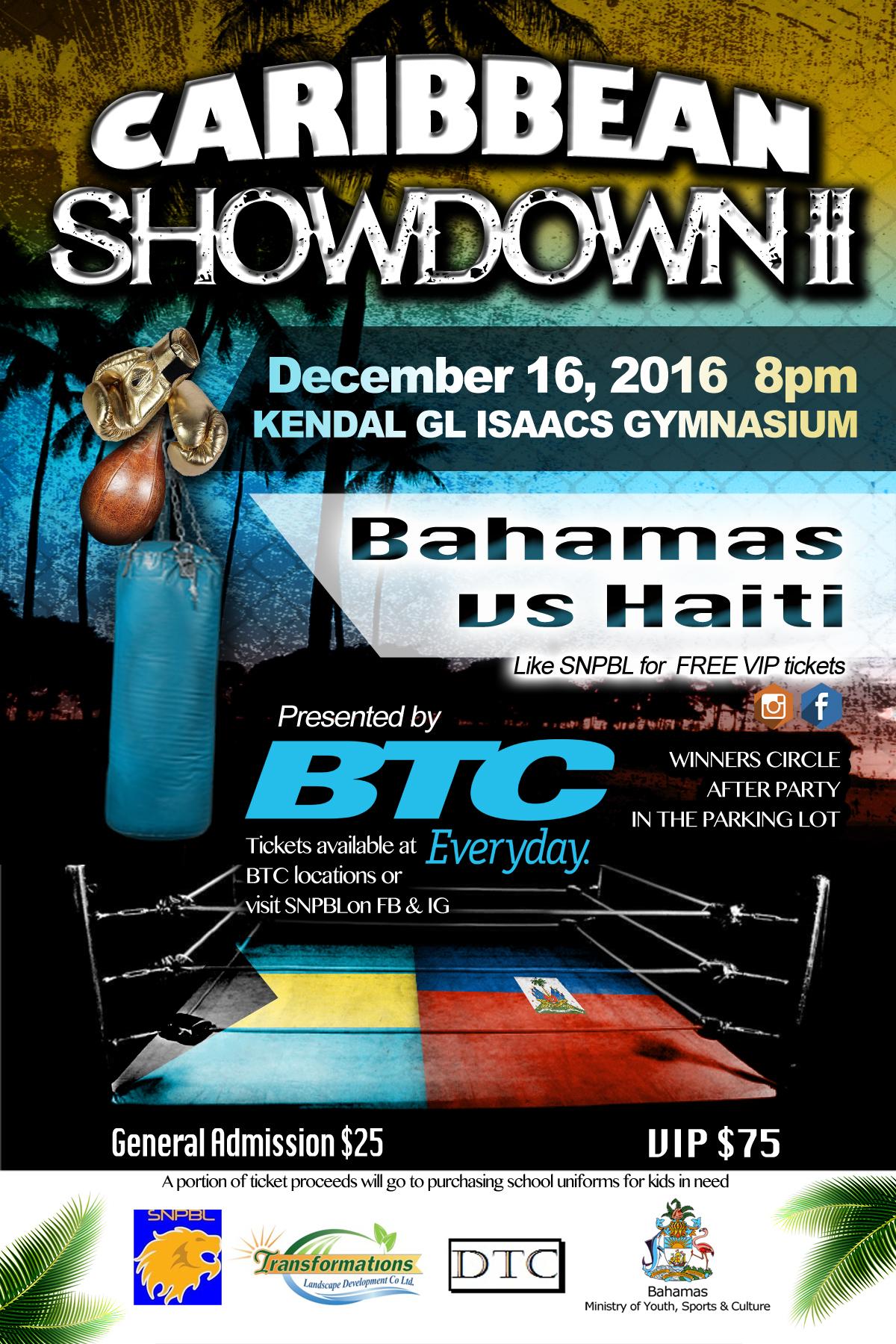 Caribbean Showdown II Bahamas vs Haiti