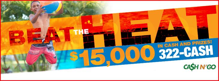 Beat The Heat 15,000 Promotion