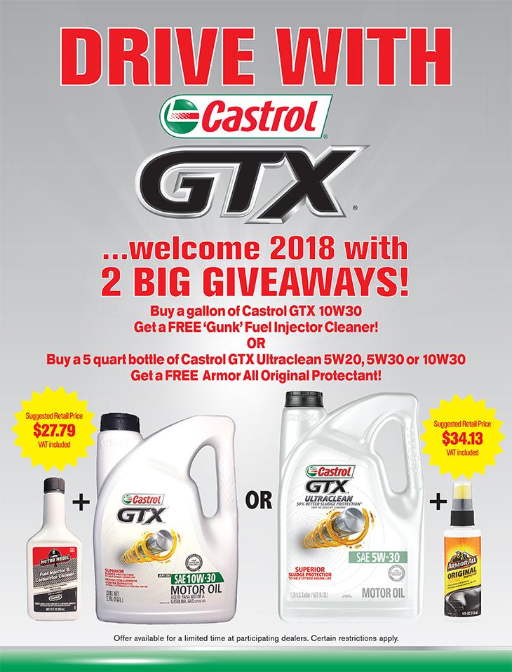 Bay Street Garage | Castrol GTX
