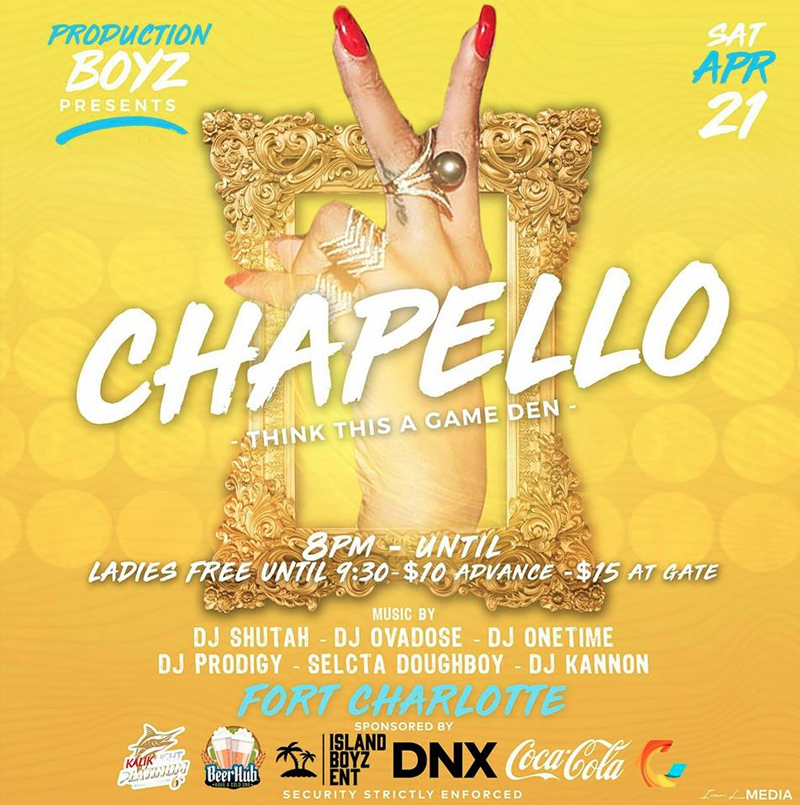Chapello Hosted by Production Boyz Ent