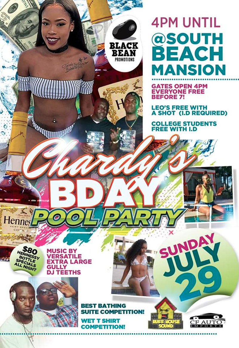 Chardy's Birthday Pool Party