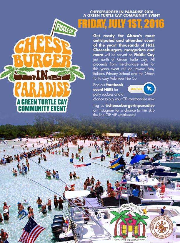 Cheeseburger In Paradise 2016