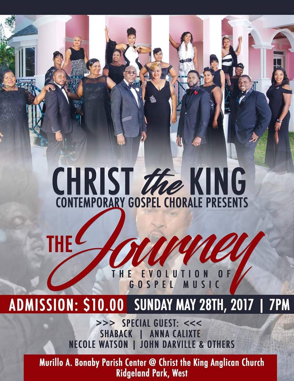 Christ the King Contemporary Gospel Chorale presents The Journey