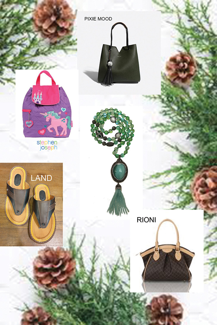 Bags For Christmas At The Brass & Leather Shops