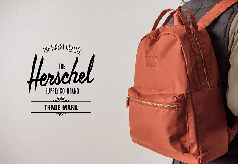 The Finest Quality Herschel | Backpack. LAND At Brass and Leather