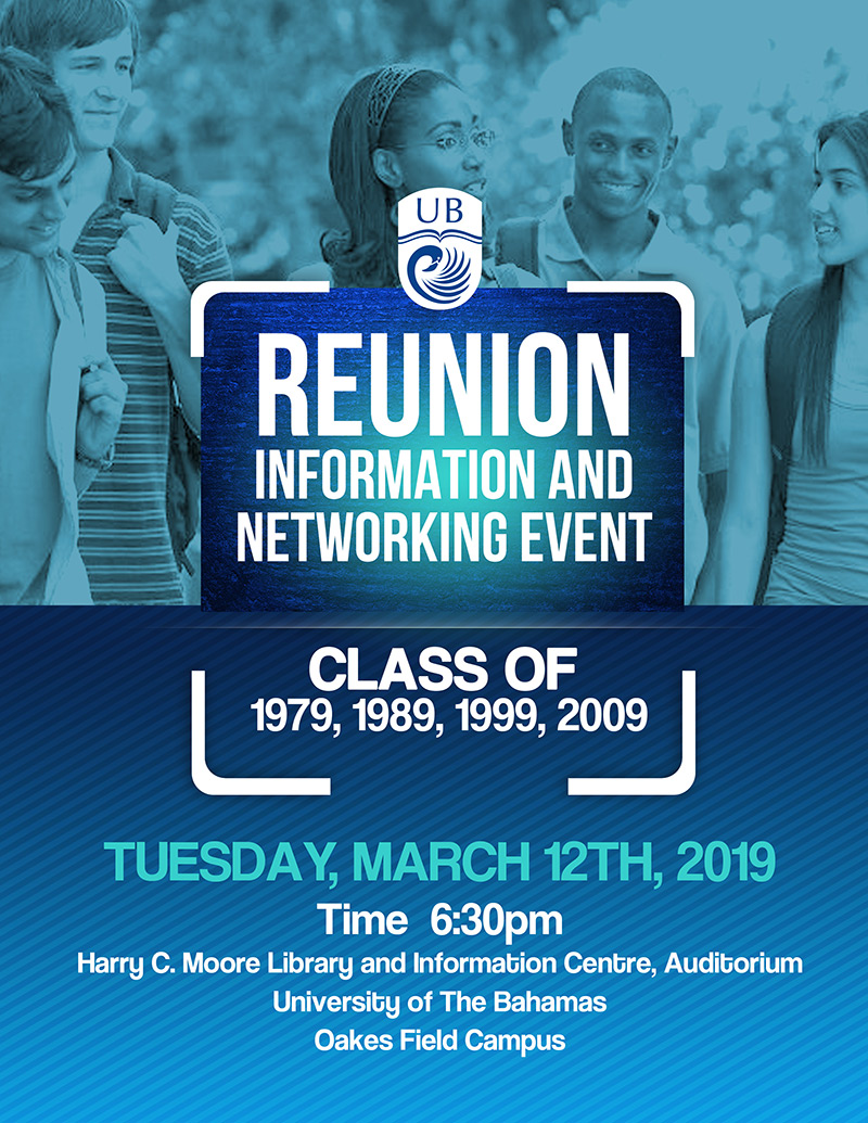 University of The Bahamas Reunion Information and Networking Event