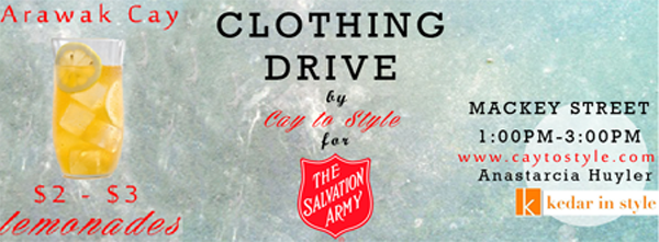 Clothing Drive for Salvation Army