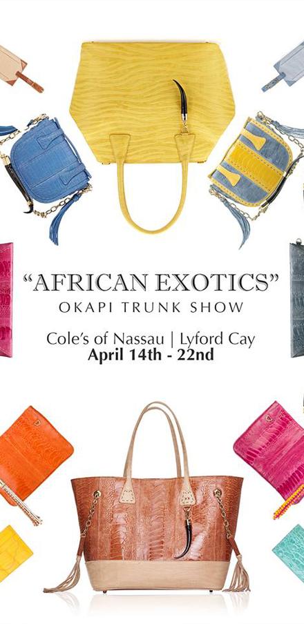 Cole's Of Nassau Presents | African Exotics