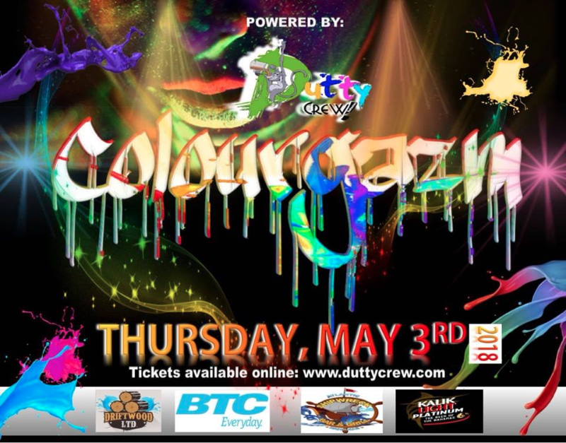 Colourgazm Hosted by Dutty Crew Bahamas J'ouvert