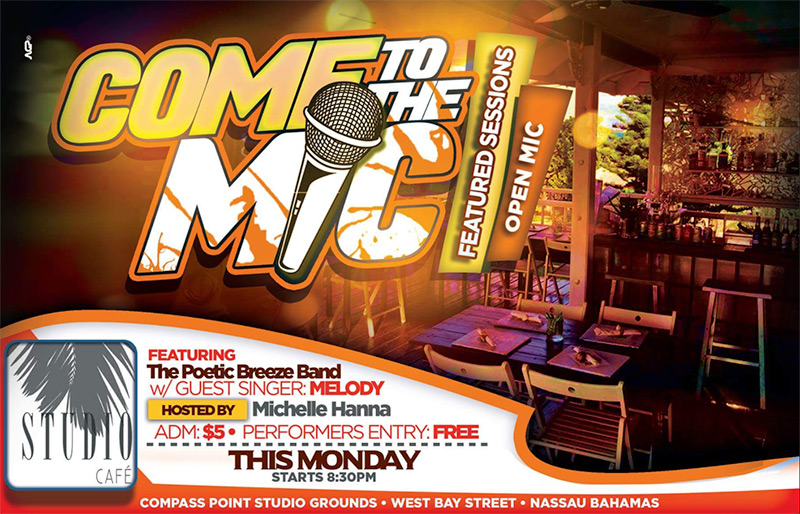 COME TO THE MIC - FEATURED SESSIONS/OPEN MIC