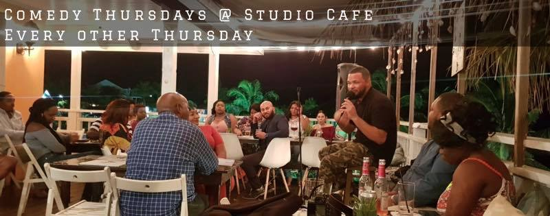 Comedy THURSDAY'S Hosted by Sawyerboy TV At Studio Cafe