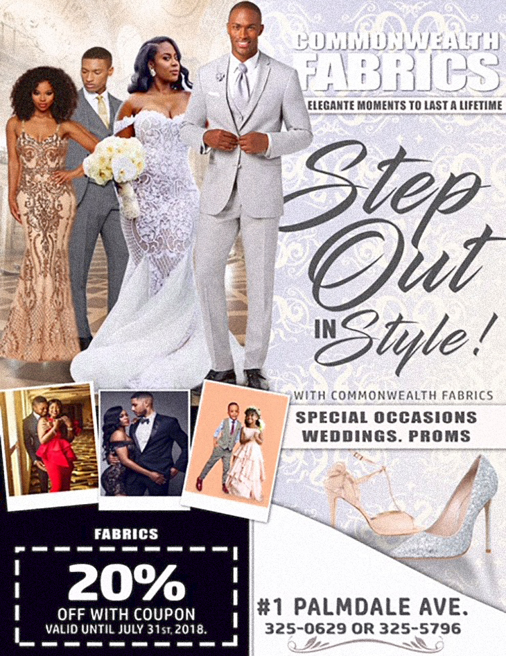 Commonwealth Fabrics Center Step Out In Style Coupon