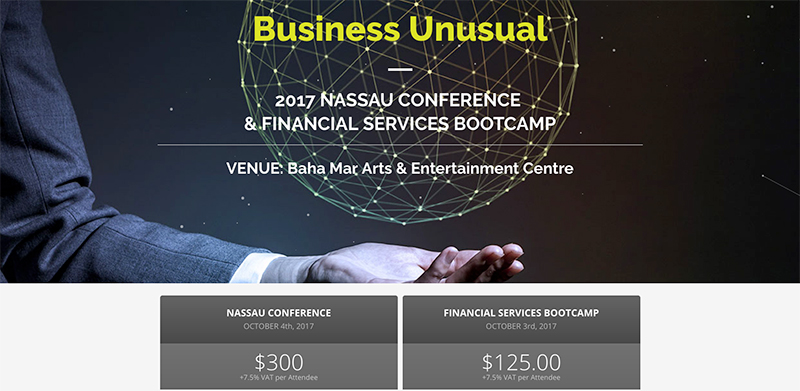 2017 NASSAU CONFERENCE & FINANCIAL SERVICES BOOTCAMP
