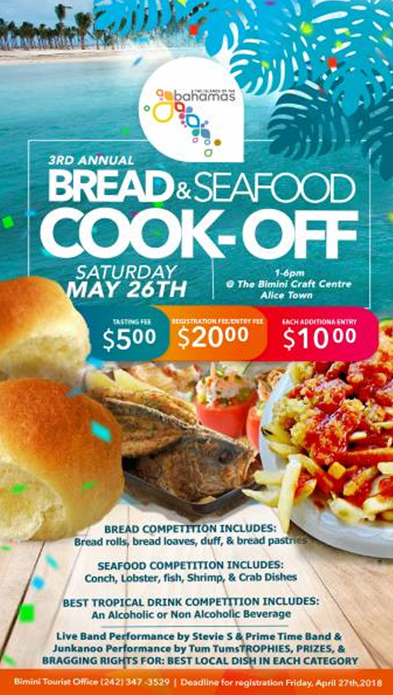 3rd Annual Bimini Bread & Seafood Cook-Off