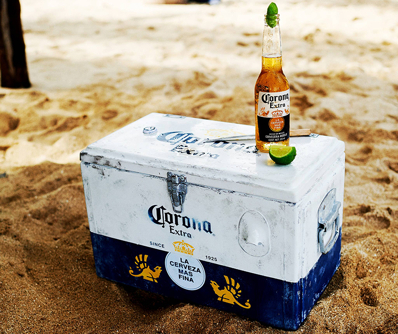 Corona has been committed to the preservation of marine life and oceanic protection.