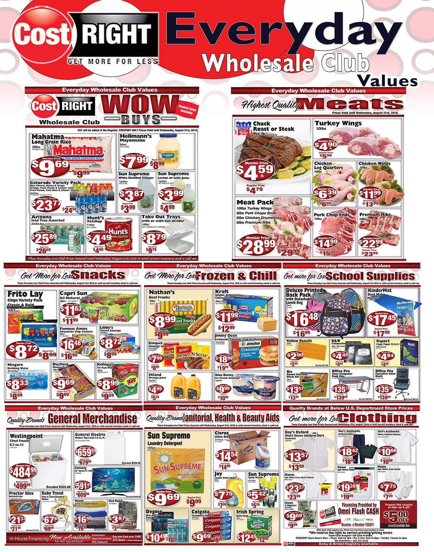 Weekly Savings!