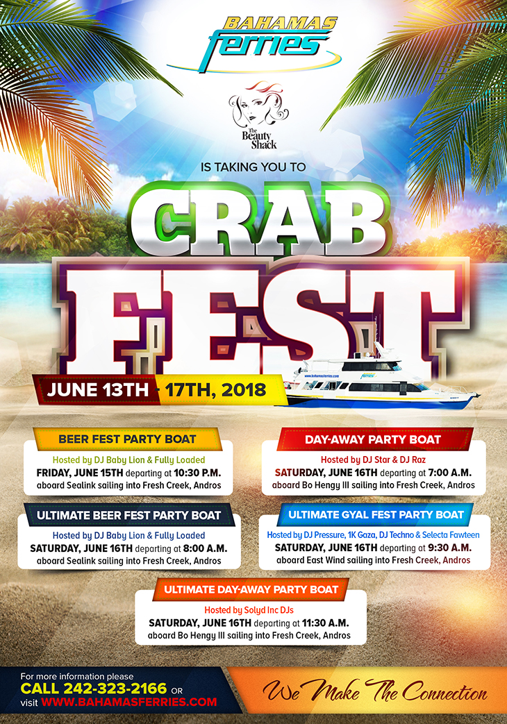 Bahamas Ferries Is Taking You To Crab Fest