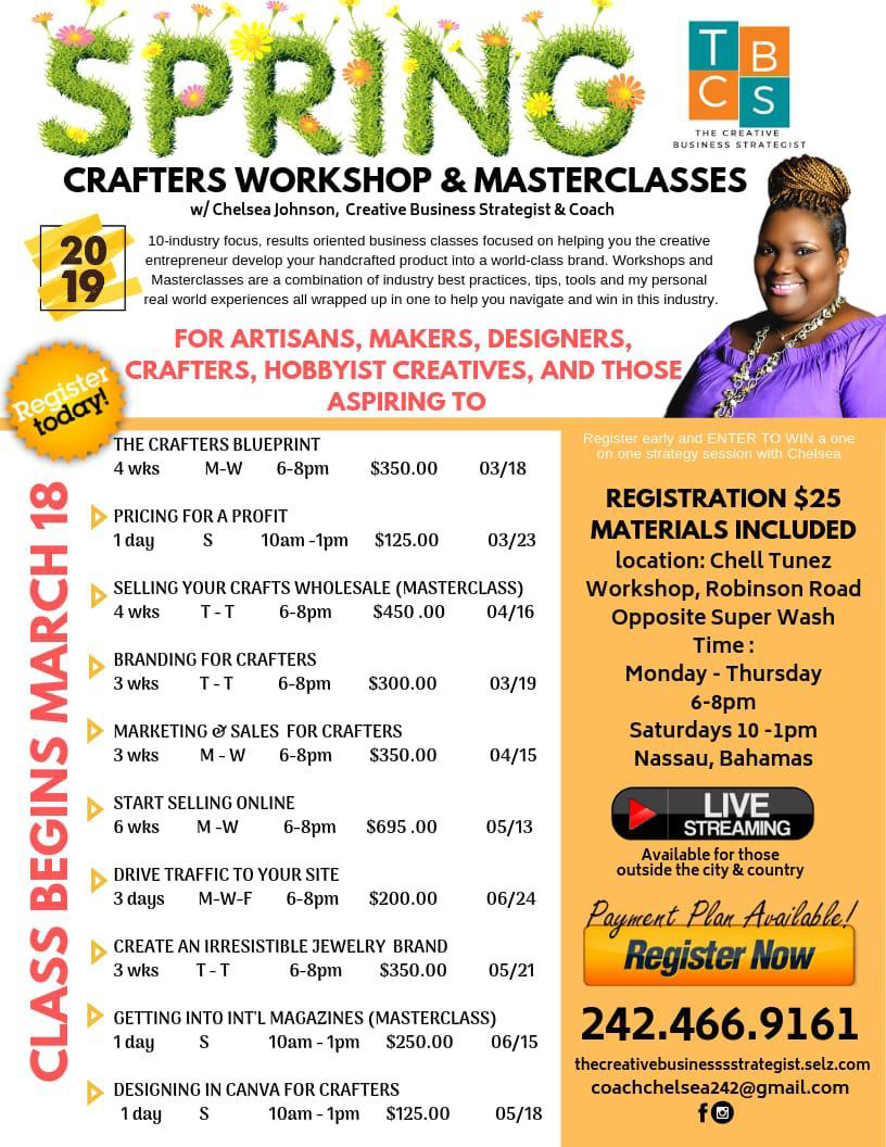 Spring Crafters Workshop & Masterclasses