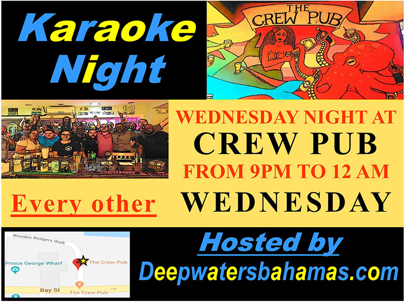 The Crew Pub WEDNESDAY Karaoke Night