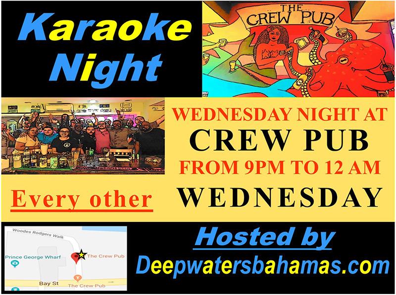 The Crew Pub WEDNESDAY Karaoke Night