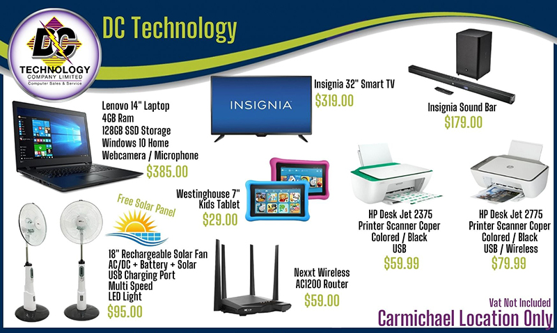 For these deals and much more shop only at our Carmichael Road Location - DC Technology