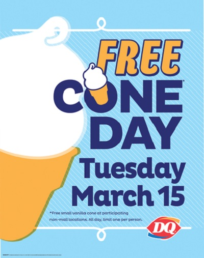 DQ Bahamas FREE Cone DAY for EVERYONE