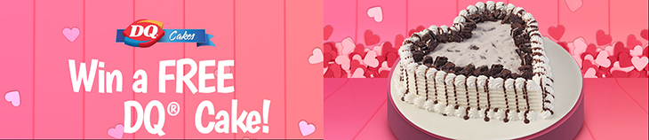 DQ Valentines Cake Giveaway