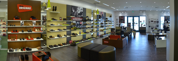 Inside Clarks South West Plaza
