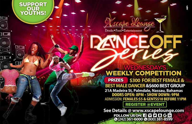 Dance Off Series Hosted by Xscape Lounge