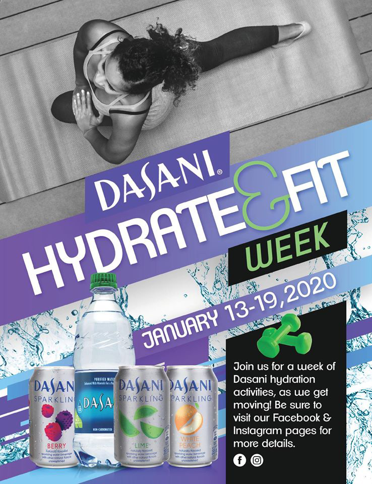Dasani Hydrate & Fit Week