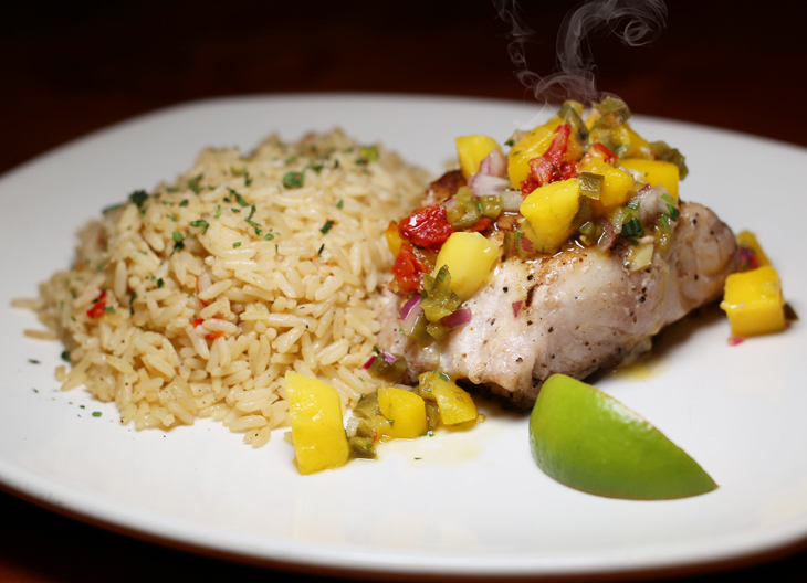 Outback Steakhouse Simply Grilled Grouper Fillet