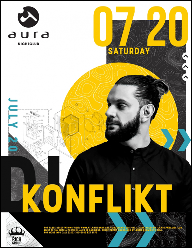 Aura Nightclub – Party In Paradise With DJ KONFLIKT