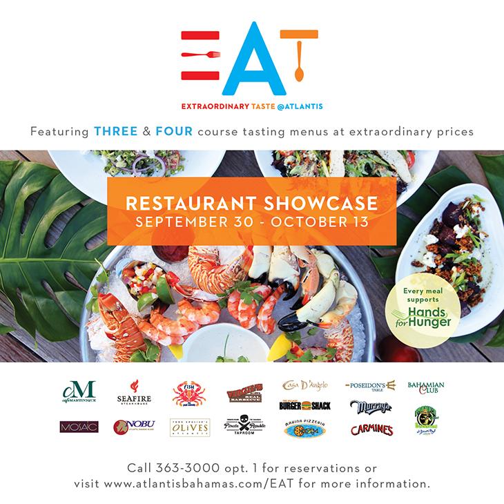 EAT | Extraordinary Taste @ Atlantis