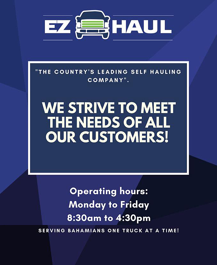 EZ Haul Rental Give us a call and ask about our weekly, bi- weekly & monthly offers.