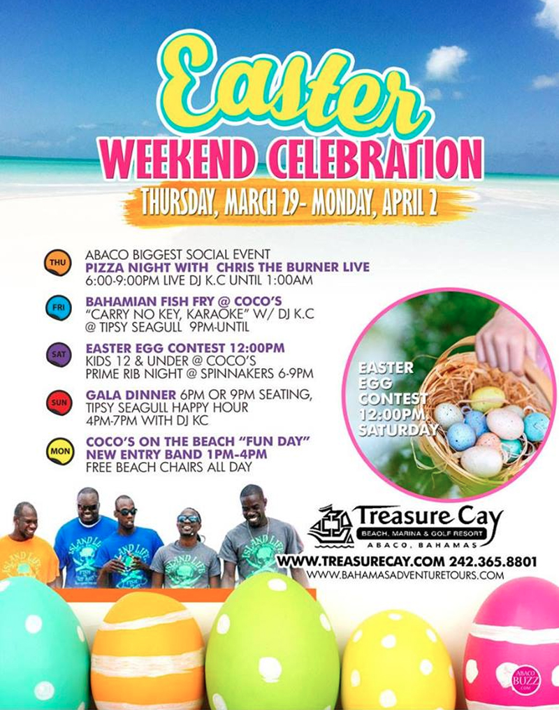 Easter Fest Hosted by Treasure Cay Hotel Resort & Marina