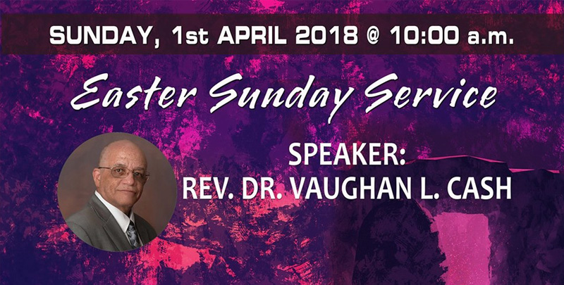 Easter Sunday Service Hosted by Evangelistic Temple