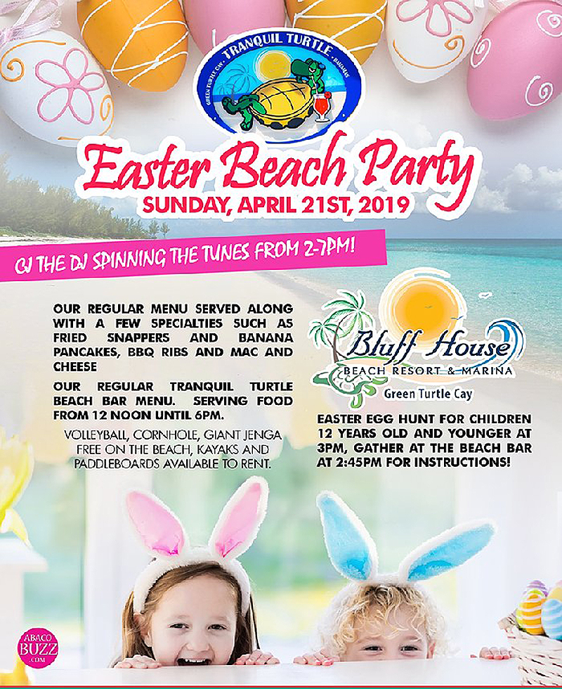 Tranquil Turtle Presents Easter Beach Party