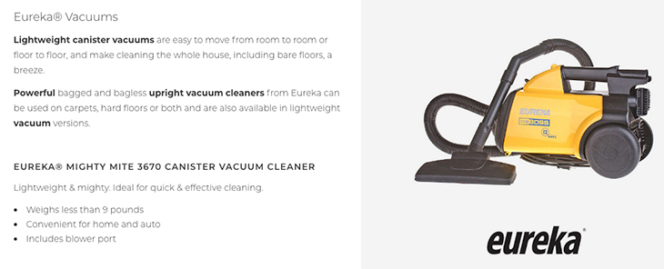 Jolly Roger Ltd | Eureka Vacuums