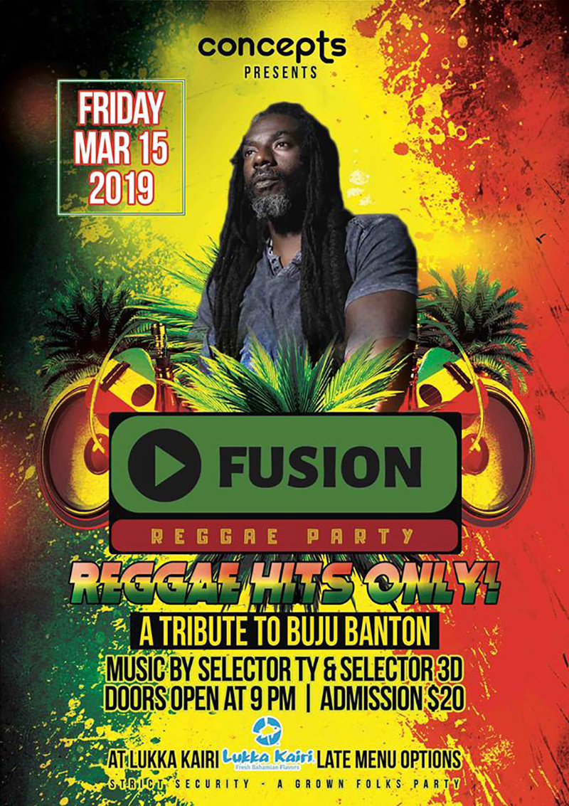Fusion Reggae Party | Door Open at 9PM