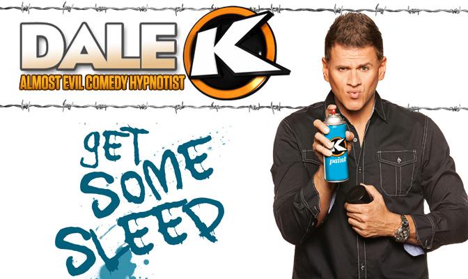 Dale K|Almost Evil Comedy Hypnotist