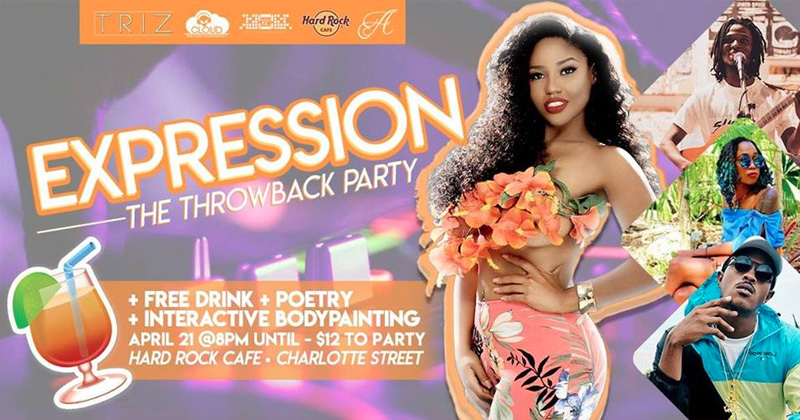 Expression Throwback Party! Hosted by Cloud Entertainment, Sagini Inc & My FLOW Bahamas